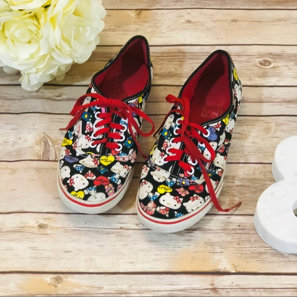 42c18857c0 SALE! Limited Edition -Vans x Hello Kitty Sneakers.  M 5bd936a24ab633f730009701